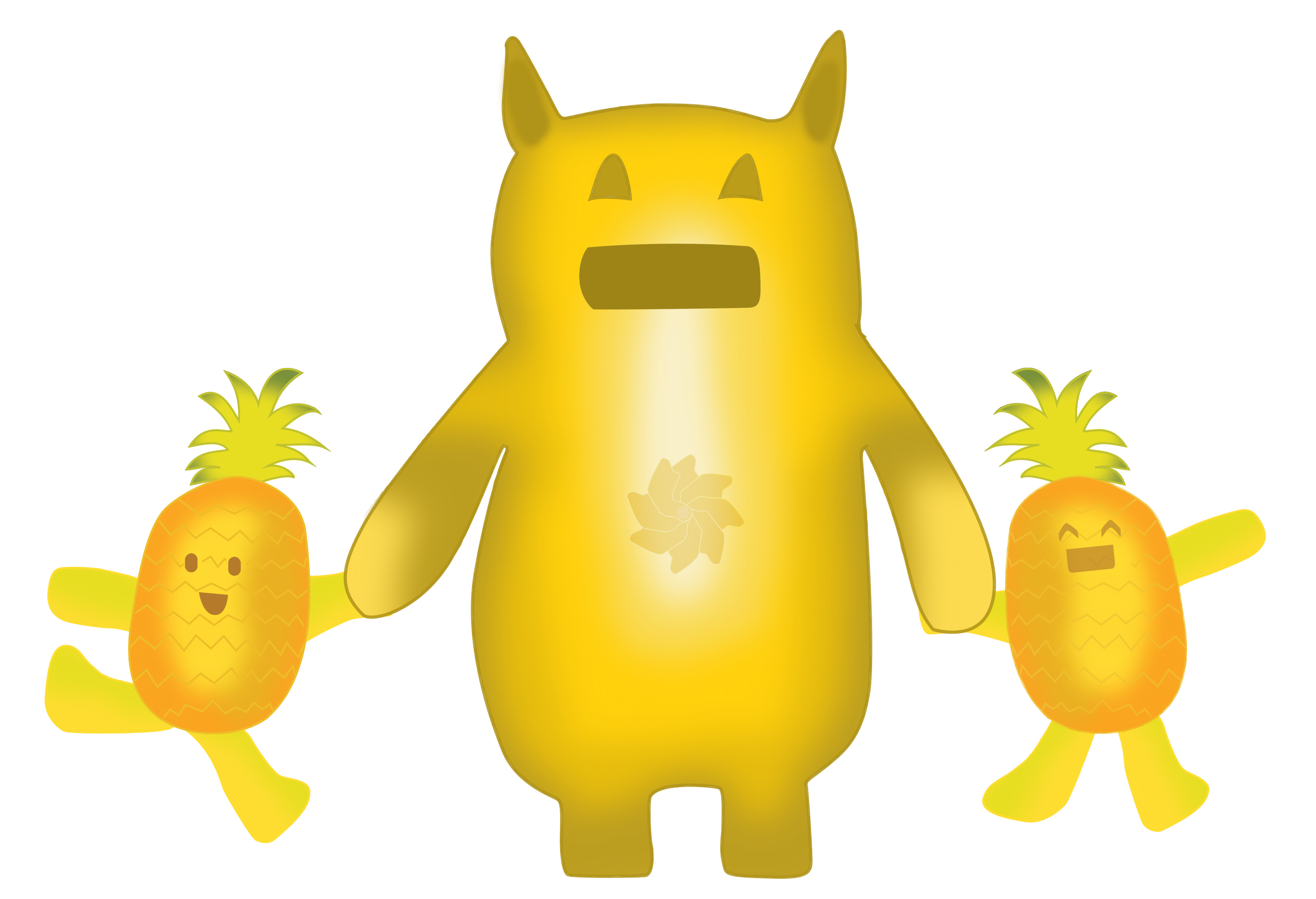 pineapple_characters