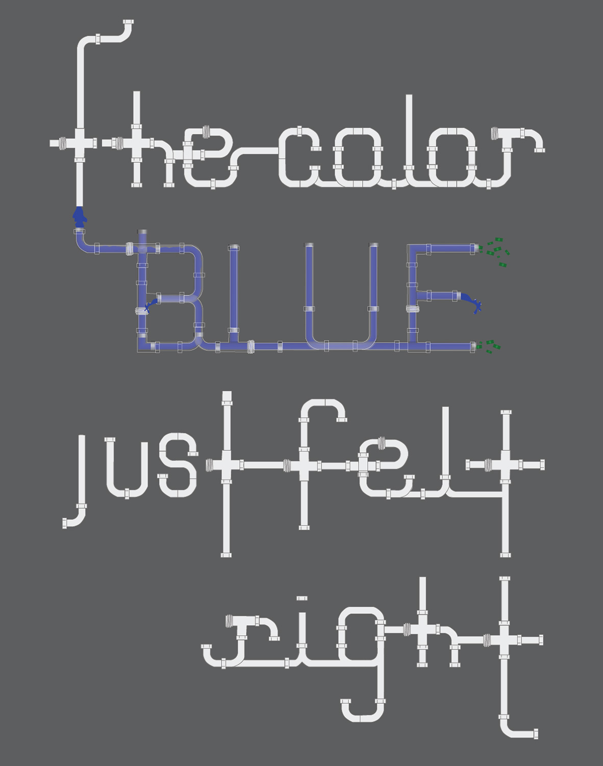 BlueMan_Thecolorblue
